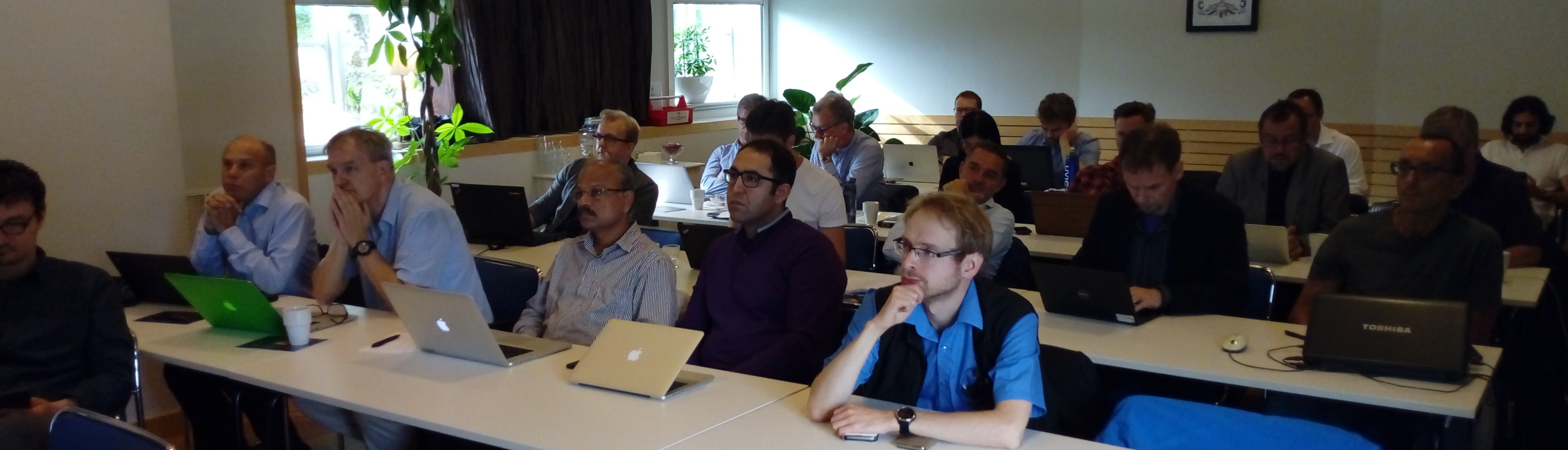 Training in Stockholm with AMASS EU project